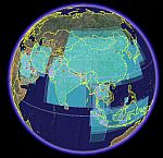 Google Earth WOSSAC holdings in Asia